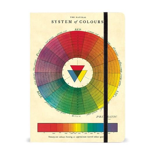 Cavallini Colour Wheel Large Journal