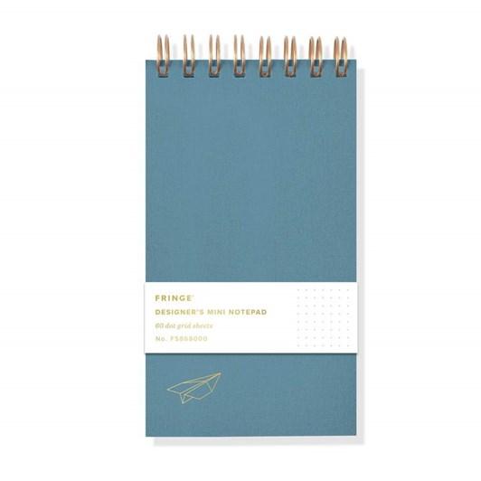 Fringe Airplane Mini Spiral Designer's Notepad
