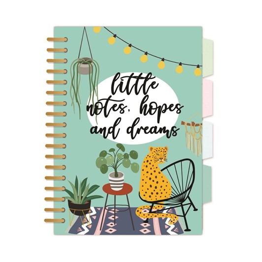 Urban Jungle A5 Wiro Notebook