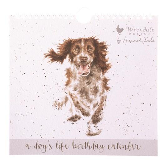 Wrendale Country Set Birthday Calendars Dog