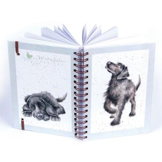 Wrendale Countryset Spiral Notebook Labrador