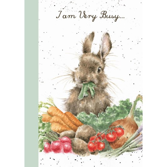 Wrendale Country Set A6 Notebook Rabbit