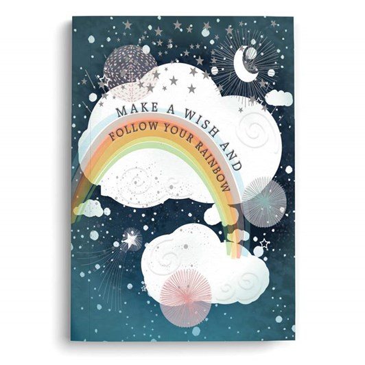 Make a Wish Mini Notebook Lined