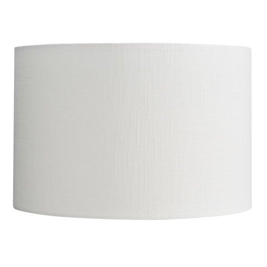 Pottery Barn Textured Gallery Straight Sided Shade Ivory Large