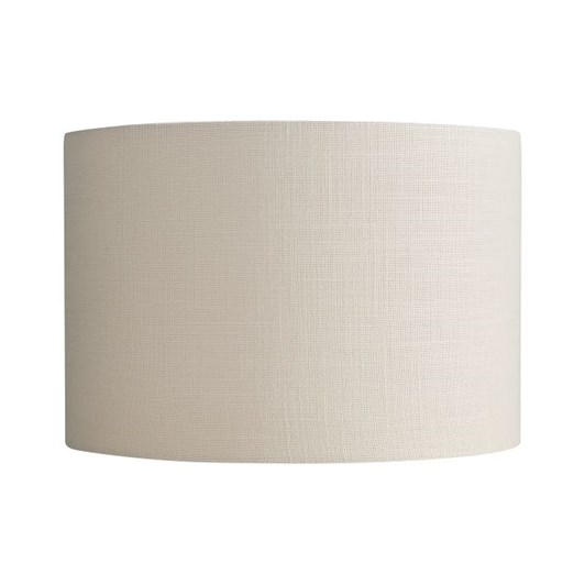 Pottery Barn Gallery Straight Sided Linen Drum Shade Large