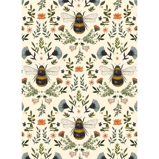 Museums & Galleries Bumblebees Card