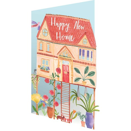Roger La Borde Happy New Home Lasercut Card