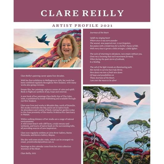Clare Reilly 2021 Calendar