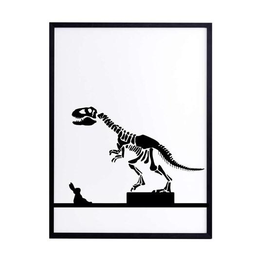 Ham Dinosaur Rabbit Screen Print