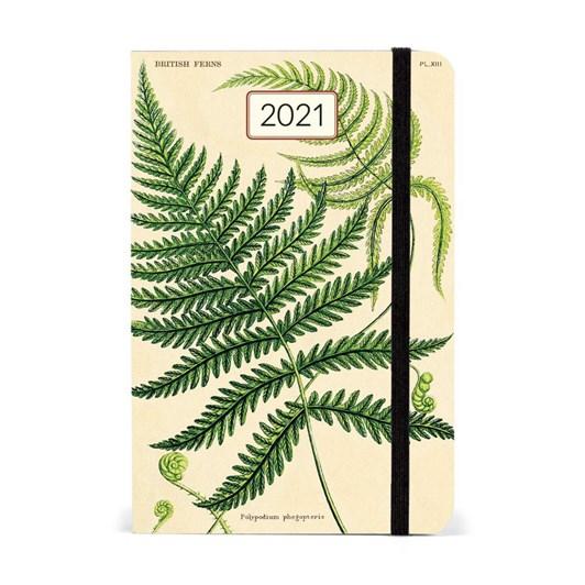 Cavallini Fern 2021 Year Planner