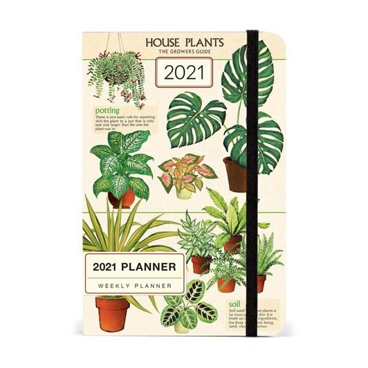Cavallini House Plants 2021 Year Planner
