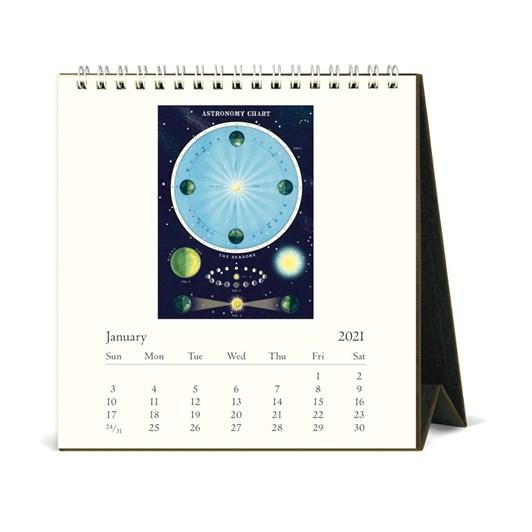 Cavallini Celestial 2021 Desk Calendar