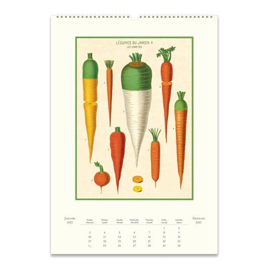 Cavallini Farmer's Market Wall Calendar