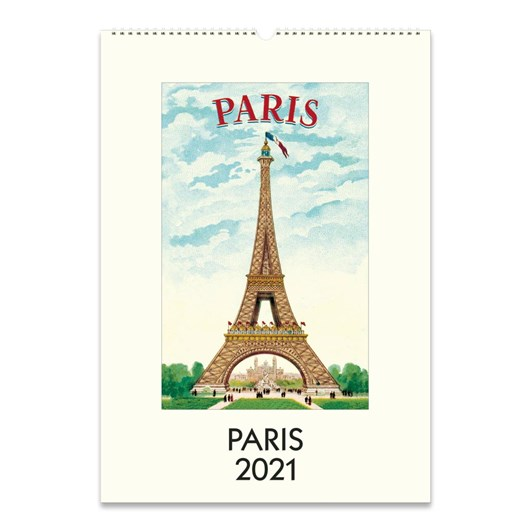 Cavallini Paris Wall Calendar