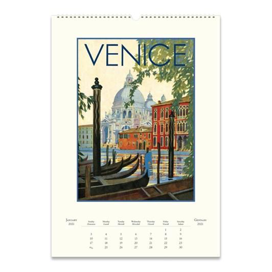 Cavallini Italia 2021 Wall Calendar