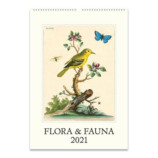 Cavallini Flora & Fauna Wall Calendar