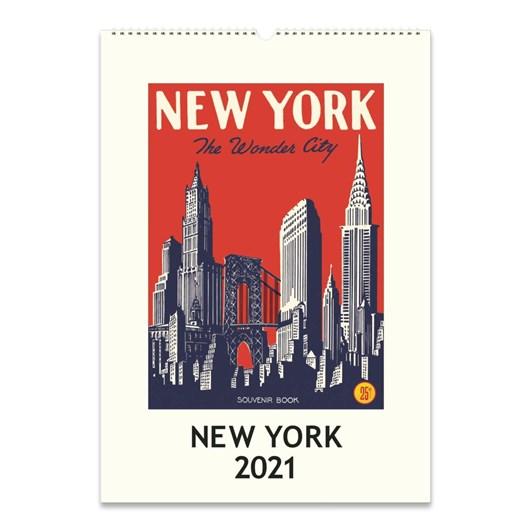 Cavallini New York Wall Calendar