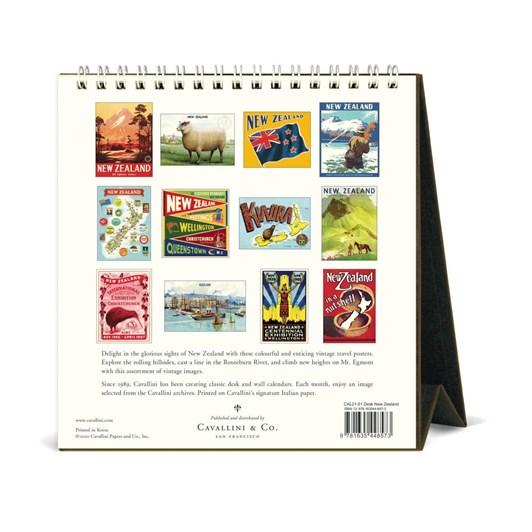 Cavallini Nz 2021 Desk Calendar