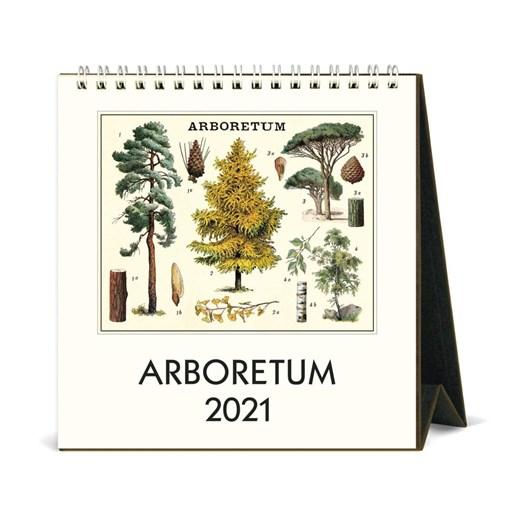 Cavallini Arboretum 2021 Desk Calendar