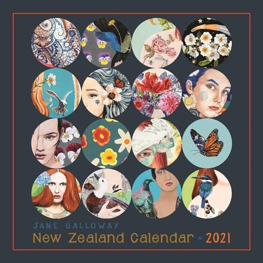 Jane Galloway 2021 Calendar