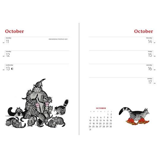 Cat Calendar Diary 2021