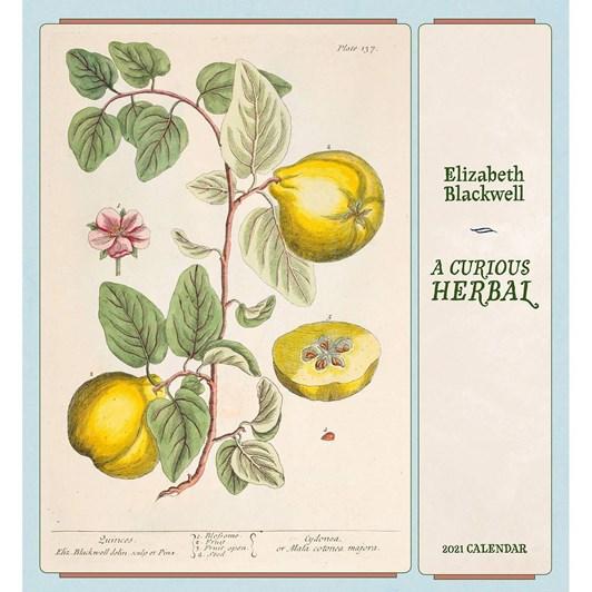 A Curious Herbal Calendar 2021