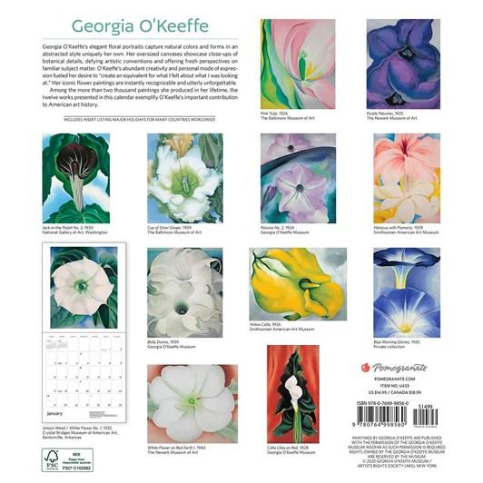 Georgia O'Keefe Calendar 2021