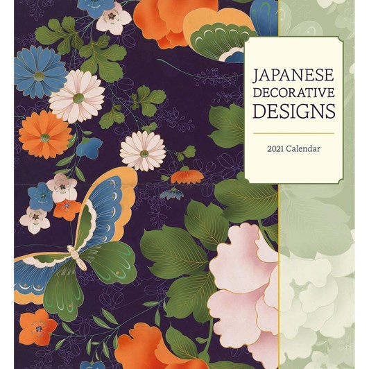 Japanese Decorative Designs Calendar 2021