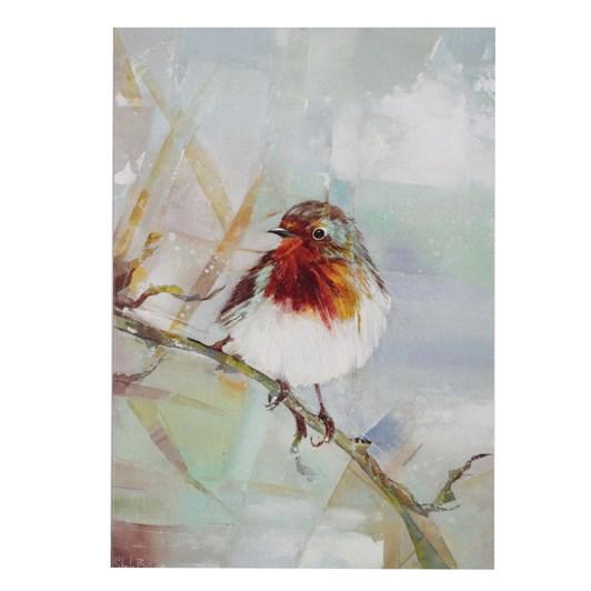 Sheila Brown Cheerful Robin Card