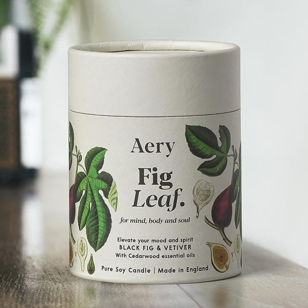 Aery Living Botanical Soy Candle 200G - Fig Leaf - na