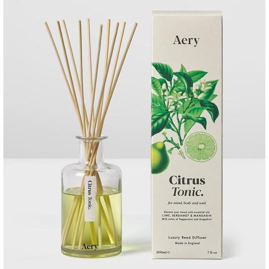 Aery Living Botanical Reed Diffuser 200Ml - Citrus Tonic