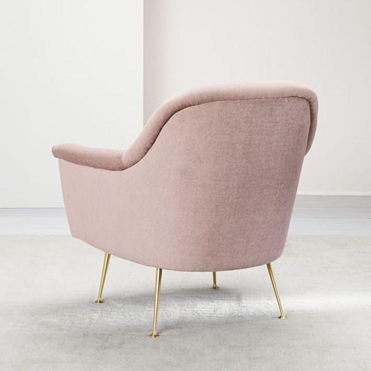 West Elm Phoebe Chair Distressed Velvet