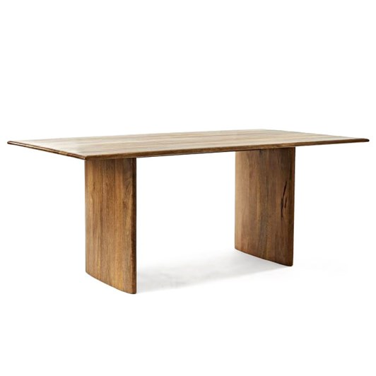 West Elm Anton Dining Table 72 Inch Burnt Wax