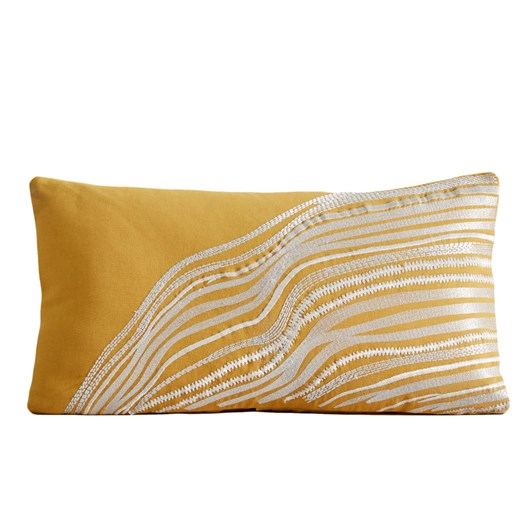 West Elm Fluid Lines Cushion Cover 12x21 Inch