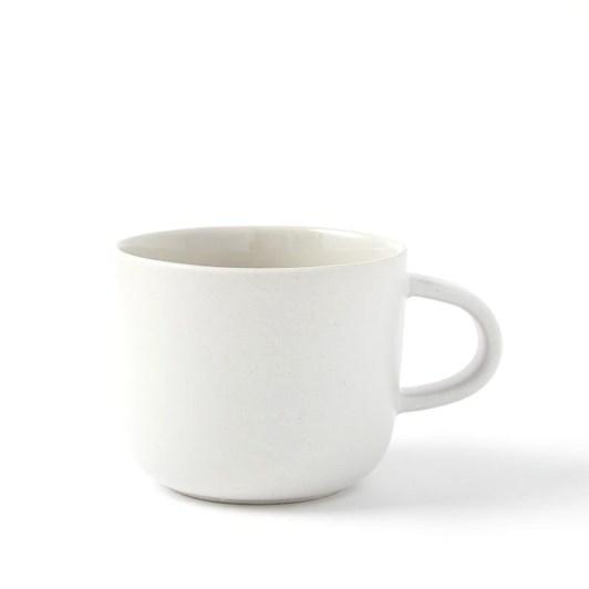 West Elm Kaloh Dinnerware Mug White Speckled