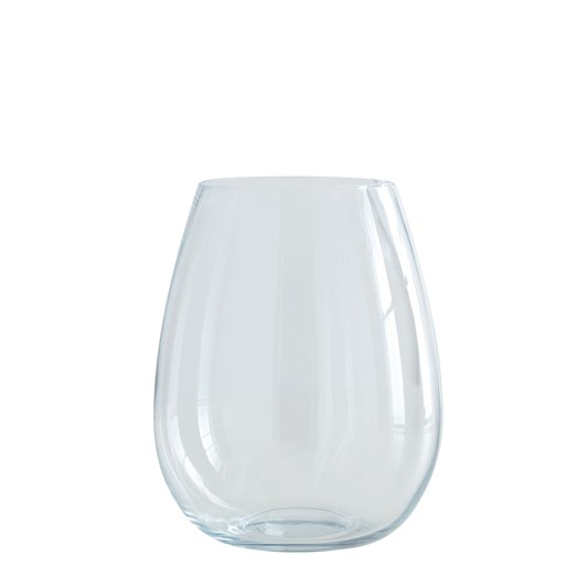 West Elm Pure Foundations Glass Vase Large Clear 12 Inch