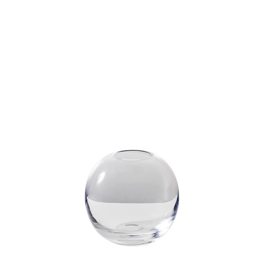 West Elm Pure Conservatory Glass Bud Vase Clear 3.5 Inch