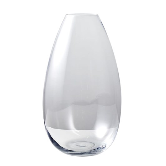 West Elm Pure Foundation Glass Large Vase Clear 16 Inch