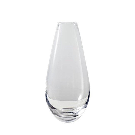 West Elm Pure Foundation Glass Medium Vase Clear 10 Inch