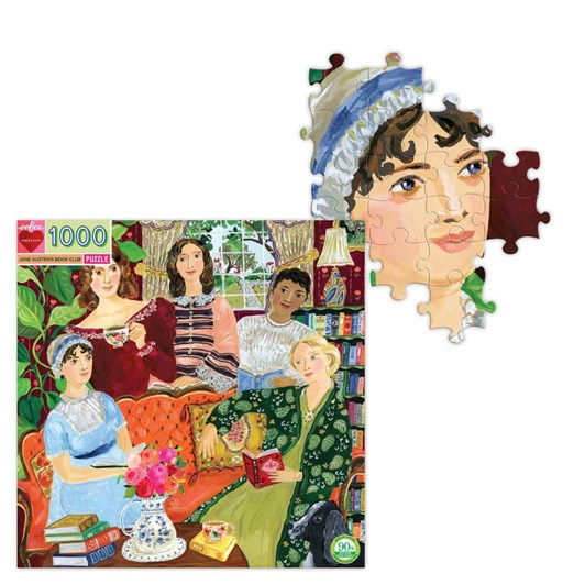 Eeboo Jane Austen Book Club 1000 Piece Puzzle