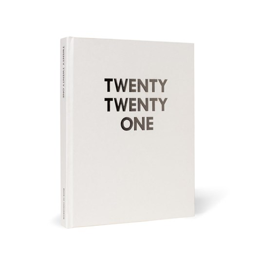 Made Of Tomorrow 2021 Daily Diary - Pale Grey with Rose Foil