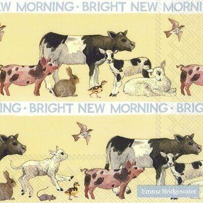 IHR Luncheon EB Bright New Morning Napkin