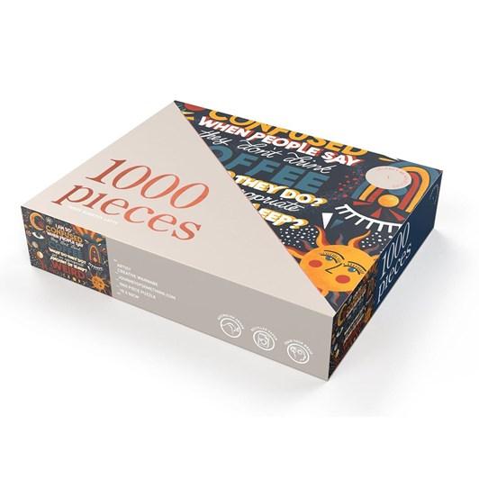 Journey Of Something Three Quarter Latte 1000 Piece Puzzle