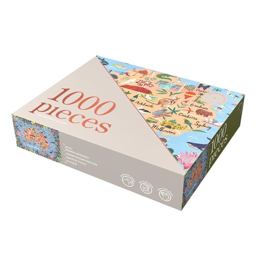 Journey Of Something Australia Edition 1000 Piece Puzzle