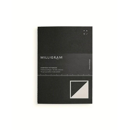 Milligram Everyday Notebook - Professional - A5