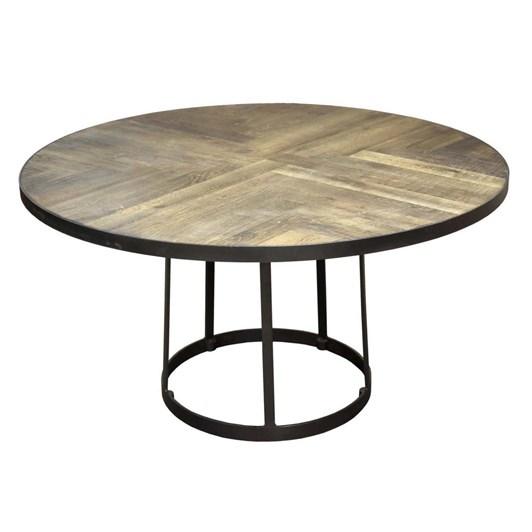 Pure Dakota Round Table Weathered Oak