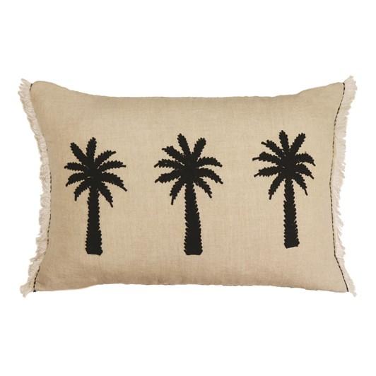 Madras Link Bermuda Palm Linen Cushion 40x60cm