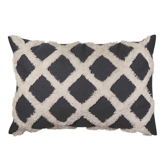 Madras Link Avoca Check Dark Blue Cushion 40x60cm