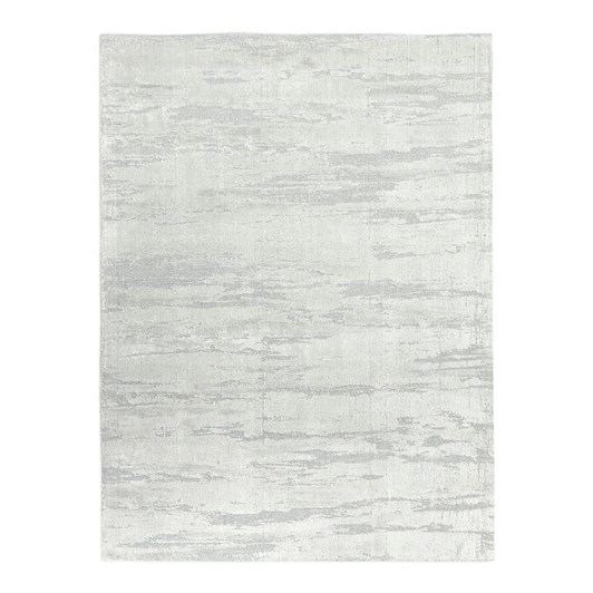 West Elm Leora Rug 5X8 Feet Frost Grey
