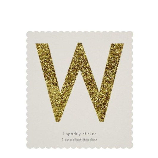 Meri Meri Chunky Gold Glitter W Sticker
